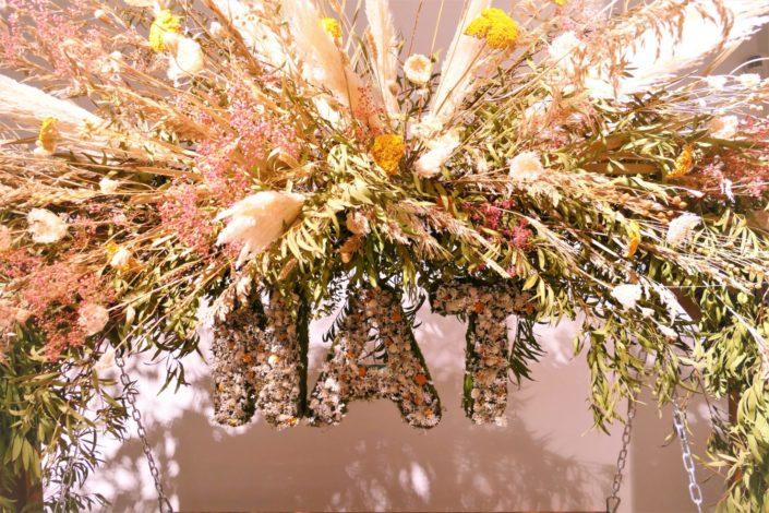 atelier créatif diy herbier de fleurs séchées pour nestlé