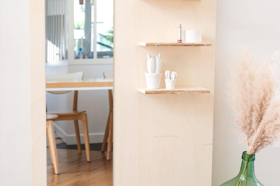 Tuto DIY Bricolage : Créer son meuble miroir