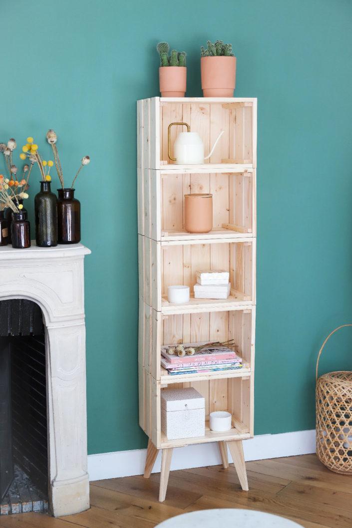 DIY Créer sont étagère en bois