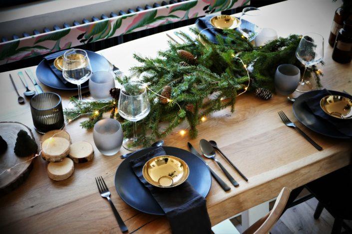 Une table de Noël ambiance Sous-bois