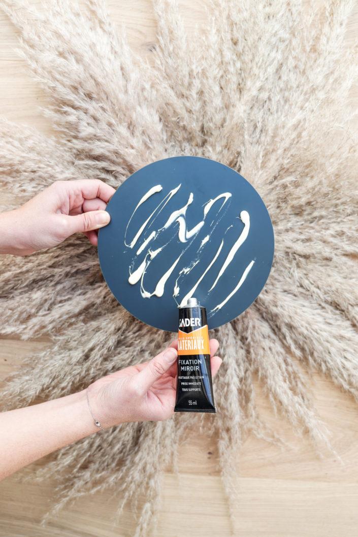 Tuto DIY pour créer son miroir pampa par Studio Candy - Atelier créatif